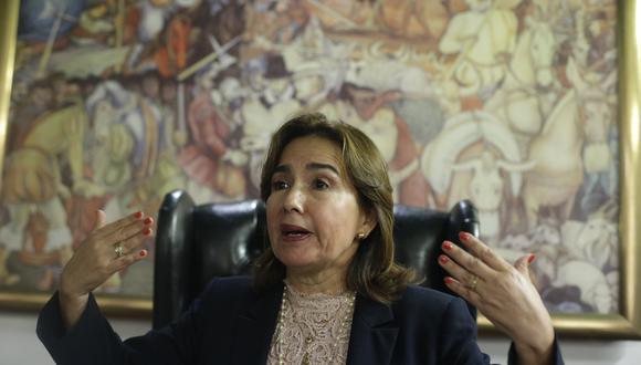 Elvia Barrios, fue elegida como presidenta del Poder Judicial, siendo la primera mujer en presidir este poder del Estado desde su creación en 1825. (GEC)