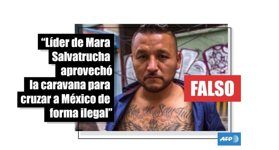 El Mijis   No, no es un peligroso líder de la Mara Salvatrucha que cruzó a México con la caravana migrante. (AFP).