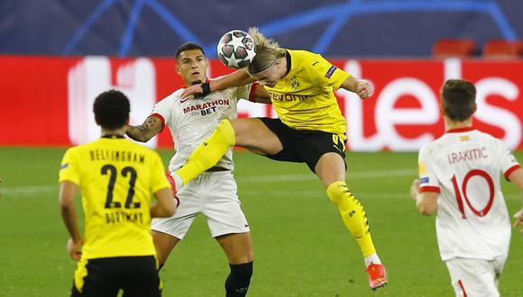 Sevilla no pudo como local ante Borussia Dortmund en Champions League | Foto: Marcelo del Pozo