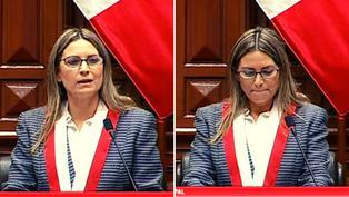 María del Carmen Alva se emociona en primer discurso como presidenta del Congreso