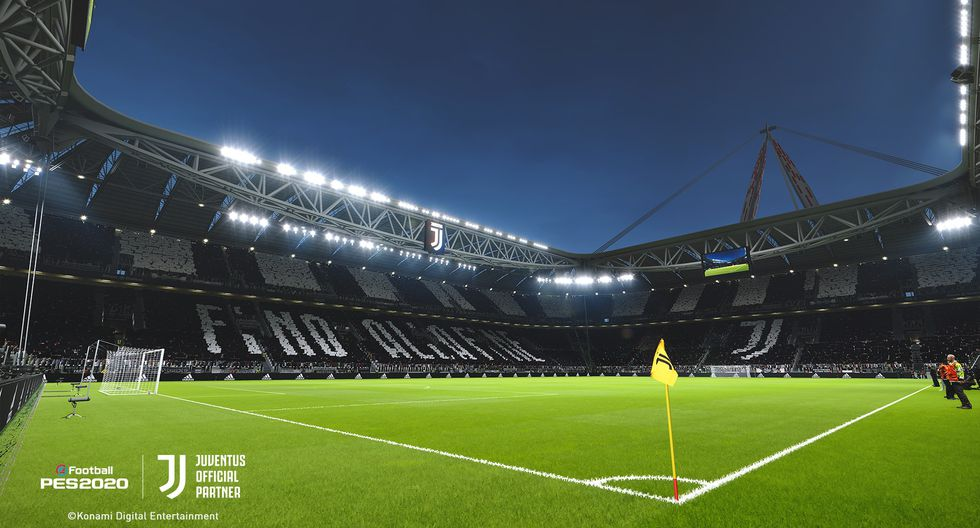 Allianz Stadium en eFootball PES 2020. (Foto: Konami)