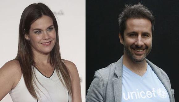 Marco Zunino y Daniela Sarfati, dos destacados actores nacionales. (Foto: USI)