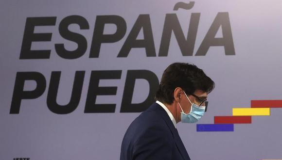 Coronavirus en España | Últimas noticias | Último minuto: reporte de infectados y muertos hoy, miércoles 30 de septiembre del 2020 | COVID-19 | En la imagen, el ministro de Sanidad Salvador Illa. (Foto: EFE/ Juanjo Martín).
