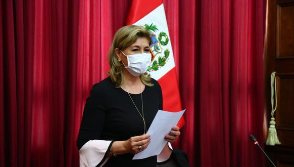 Mary Peña es docente de Educación Inicial y presidió el Comité de Damas del Parlamento (Foto: Congreso)
