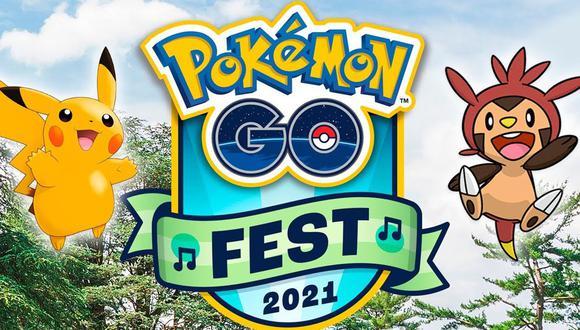 Google Play alista regalos exclusivos para los entrenadores de Pokemon Go Fest 2021. (Foto: Niantic)