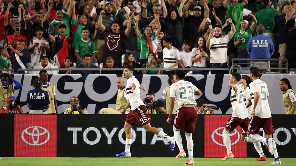 México vs. Haití. (Foto: AFP)