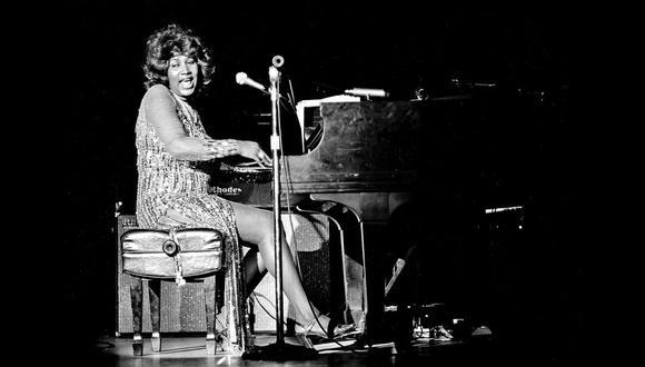 La reina del soul en un concierto en Las Vegas, en 1978. Murió el  pasado 16 de agosto, a causa de un cáncer de páncreas.