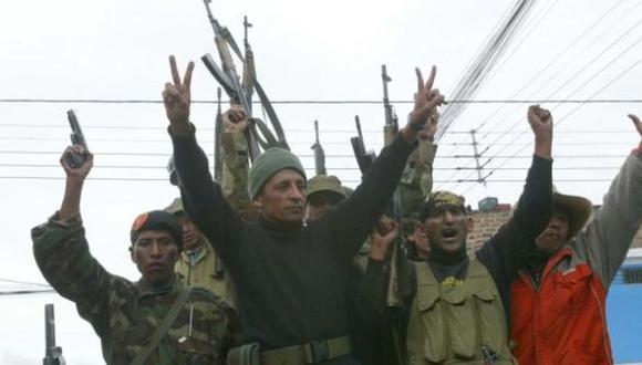 Cinco de las personas que acompañaron a Antauro Humala en la asonada del 'andahuaylazo' en el 2005 ahora buscan llegar al Congreso en las filas de UPP. (Ilustración: El Comercio)