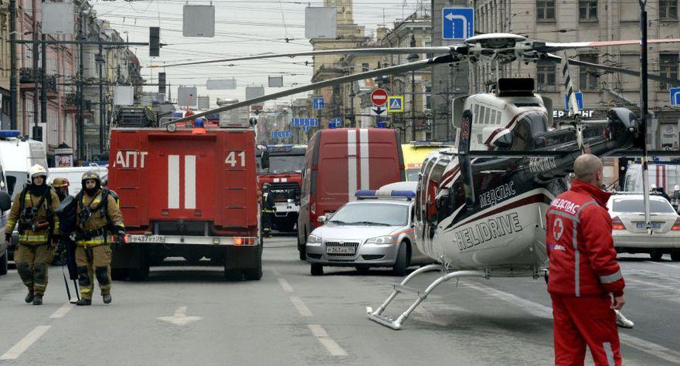 Rusia: Tragedia en el metro de San Petersburgo [FOTOS] - 16