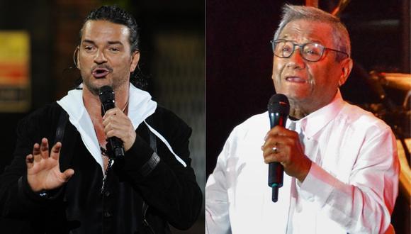 Ricardo Arjona le dedica bellas palabras al cantante tras enterarse de su muerte. (Foto: MARTIN BERNETTI y JORGE BELTRAN/AFP)