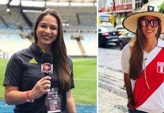 La periodista brasileña que viaja por el mundo cubriendo los eventos deportivos más importantes