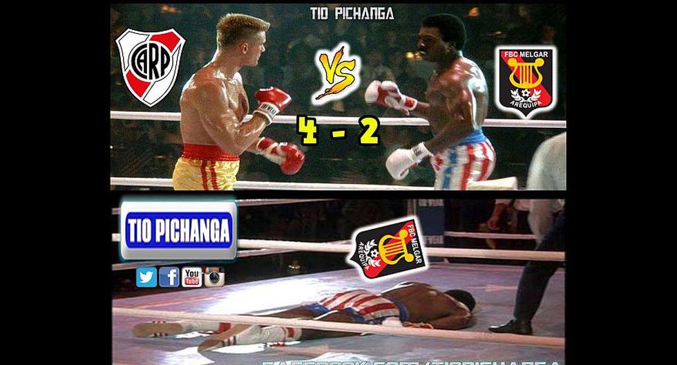 River vs. Melgar: los memes que dejó el duelo por Libertadores - 1