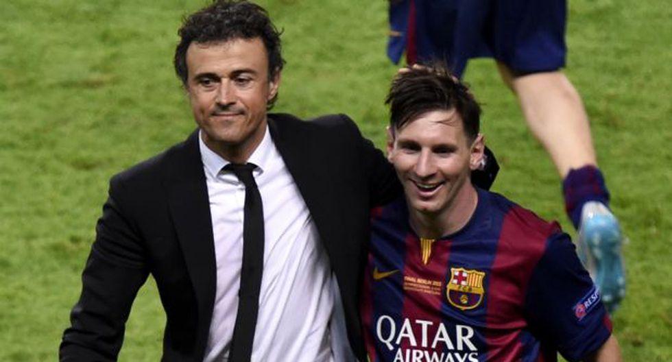 """Luis Enrique: """"Sin Messi, Barcelona ha dado un paso al frente"""" - 2"""