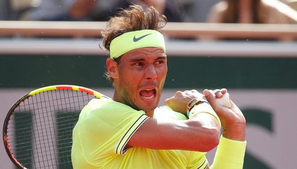 Rafael Nadal en el Roland Garros. (Foto: AFP)