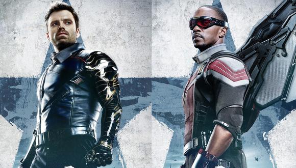 En esta serie, Falcon (derecha) y Winter Soldier (izquierda) tendrá que cumplir una misión juntos, aunque no se toleren. (Foto: Facebook/The Flacon and the Winter Soldier)