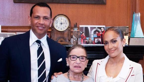"Jennifer Lopez lamentó la muerte de Ruth Bader Ginsburg: ""Tengo el corazón roto"". (Foto: @jlo/Fred Schilling)"