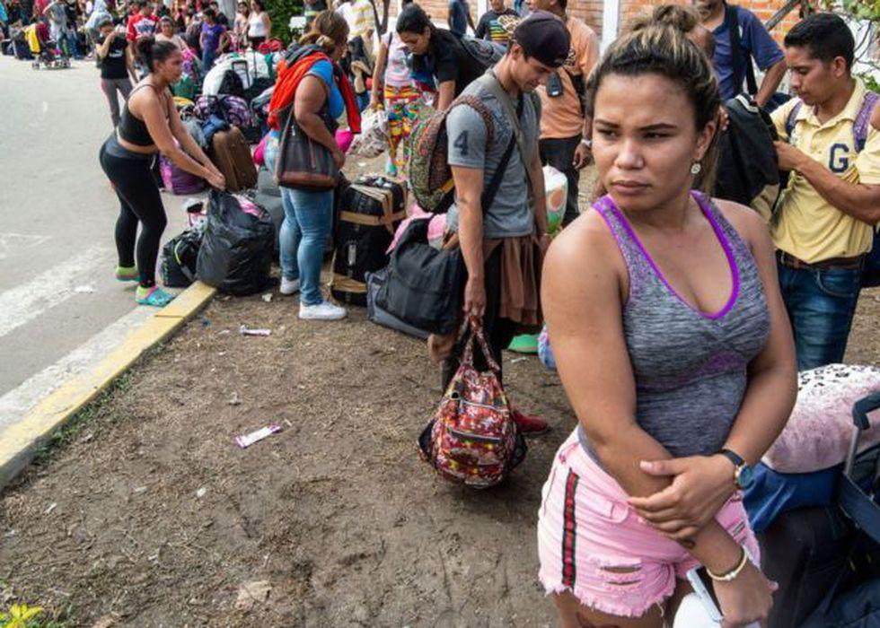 Se estima que son más de millón y medio de venezolanos los que migraron a Colombia. Foto: GETTY IMAGES, vía BBC Mundo