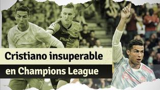 Champions League: el nuevo récord histórico de Cristiano Ronaldo