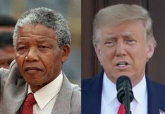Fundación Nelson Mandela criticó a Trump por supuestas ofensas al exlíder sudafricano