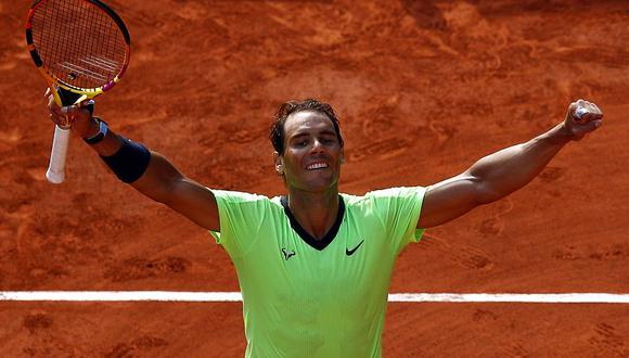 Rafael Nadal venció a Diego Schwartzman y disputará la semifinal de Roland Garros