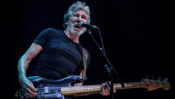 Roger Waters durante reciente presentación en Barcelona, España. (Foto: EFE)
