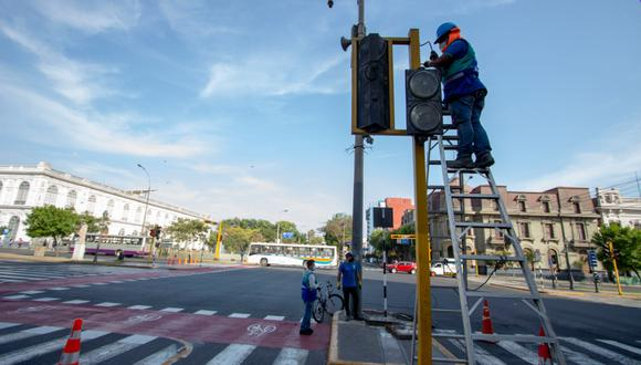 Se busca promover la circulación segura de ciclistas, peatones y conductores. (Foto: Municipalidad de Lima)