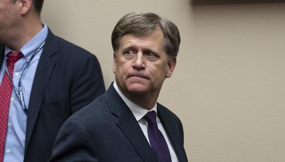 """El exembajador de EEUU en Moscú Michael McFaul (en la imagen) dijo que el hecho de filtrar a la prensa la identidad de Smolenkov """"es obviamente para intimidarle y asustarle"""". (Foto: AFP)"""