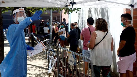 Coronavirus en España | Últimas noticias | Último minuto: reporte de infectados y muertos hoy, martes 25 de agosto del 2020 | Covid-19 | (Foto: EFE/ Quique García).
