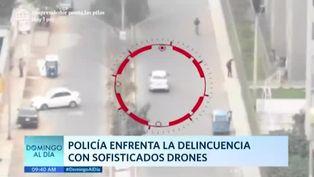 PNP enfrenta a delincuentes con sofisticados drones