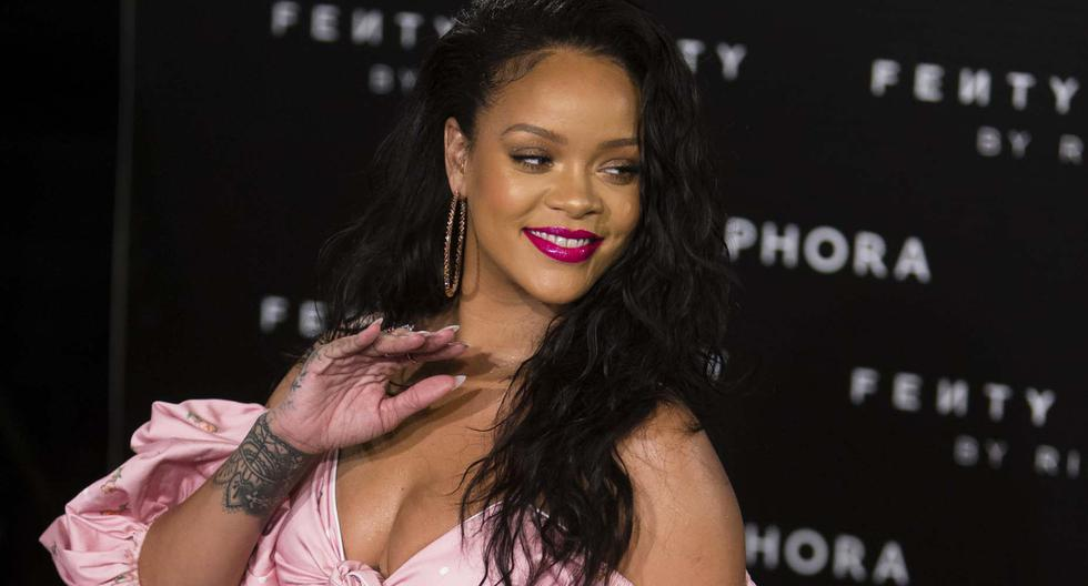 Rihanna y el tierno baile con su abuelo de 90 años se roba el corazón de las redes.