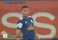 Sporting Cristal vs. Cienciano: El golazo de 'Canchita' Gonzáles para el 1-1 en San Marcos | VIDEO