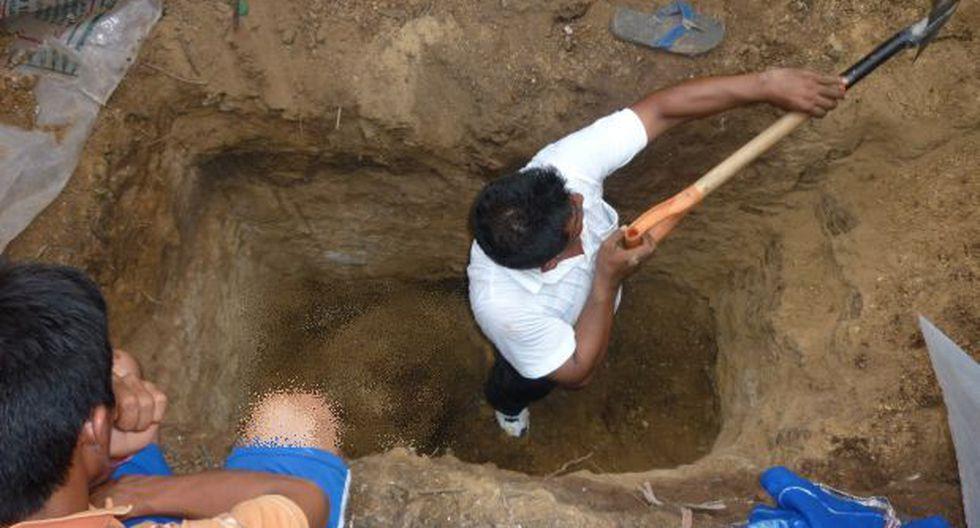 Piura: mujer envenenó y enterró a su esposo en su vivienda