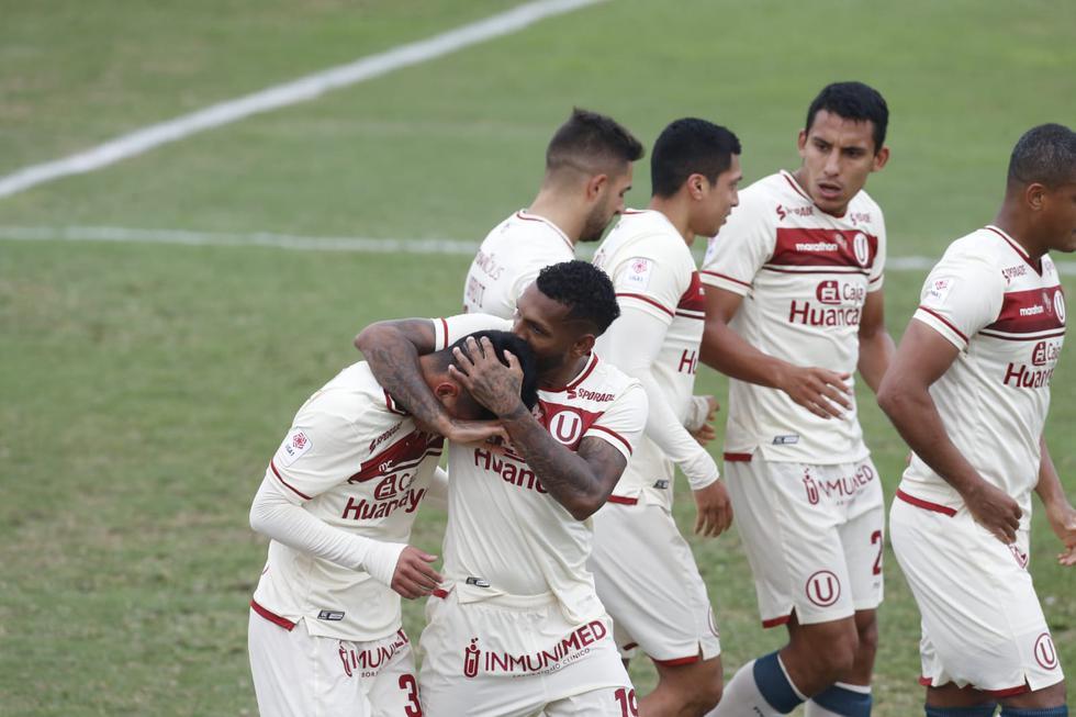 Universitario enfrentó a Sport Huancayo por la jornada 13 de la Liga 1 | Foto: GEC