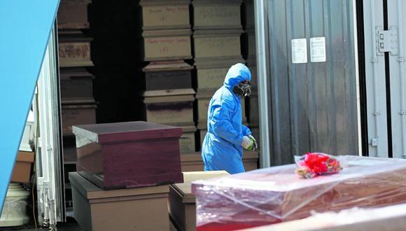 La semana pasada, se registraron los tres fallecimientos diarios más altos de toda la pandemia. Ayer, el Minsa reportó 259 decesos por el virus