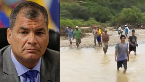 Ecuador previno las inundaciones construyendo una defensa ribereña en 15 kilómetros de zona vulnerable. (Foto: Reuters/Captura de TV)