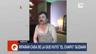 """México: Rifan casa donde huyó Joaquín """"El Chapo"""" Guzmán"""