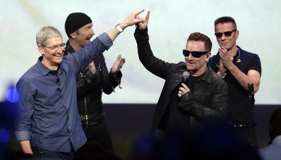 """Pink Floyd: U2 """"devalúa la música"""" al regalar su último álbum"""