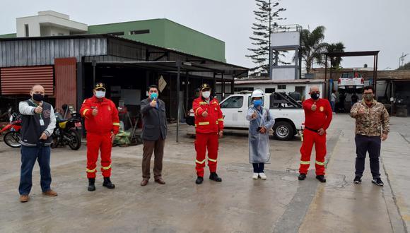 San Isidro transfirió terreno municipal para nueva estación de Bomberos del Perú. (Foto: Municipalidad de San Isidro)