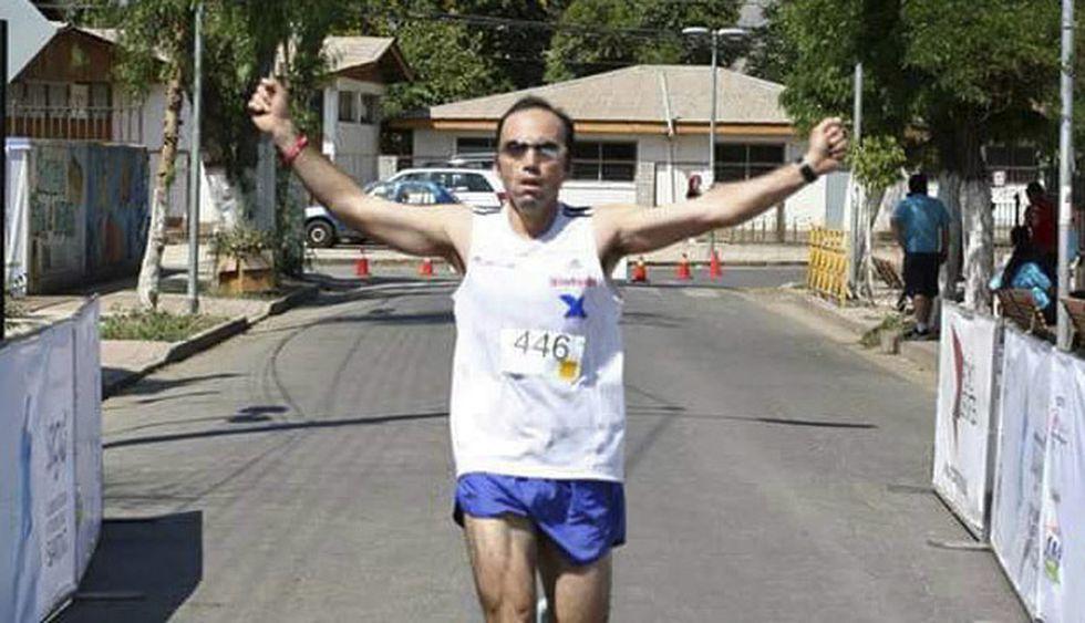 El corredor chileno señala que retomó el running luego de 14 años.