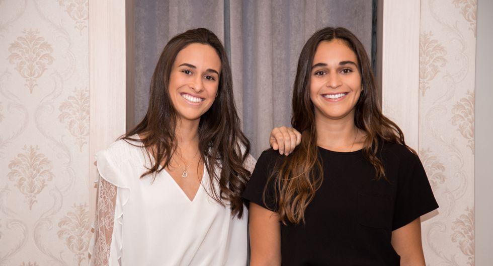 FOTO: Revista digital Status L  Paulina Camet (izquierda) y Micaela Camet (derecha)