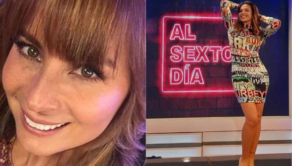 """Olenka Zimmermann a Mónica Cabrejos: """"Periodista o no, ganaba más que tú"""". (Foto: @olenkazimmermann/@la_cabrejos)"""