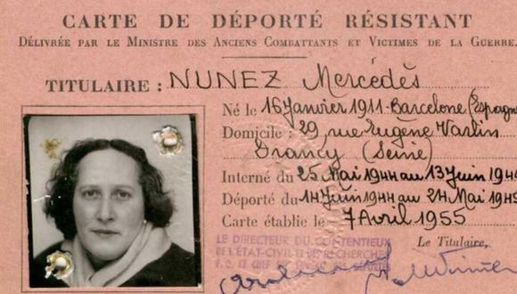 Carta de una de las mujeres deportadas. (FOTO CEDIDA POR LA AUTORA MÓNICA G. ÁLVAREZ).