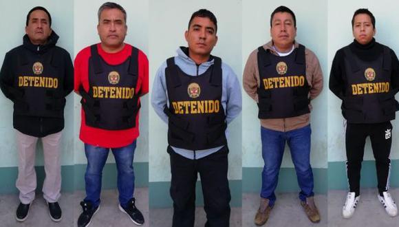 Trujillo: prisión preventiva para 5 policías acusados de pertenecer a banda criminal