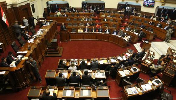 Congreso acordó postergar fecha para dar el voto de confianza