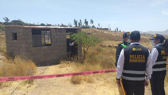 Arequipa: hombre es encontrado sin vida en su vivienda de Yarabamba. (Foto: PNP)