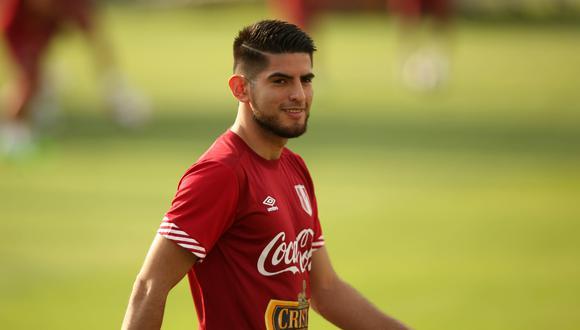 Carlos Zambrano durante los entrenamientos en la Videna. (Foto: EFE)