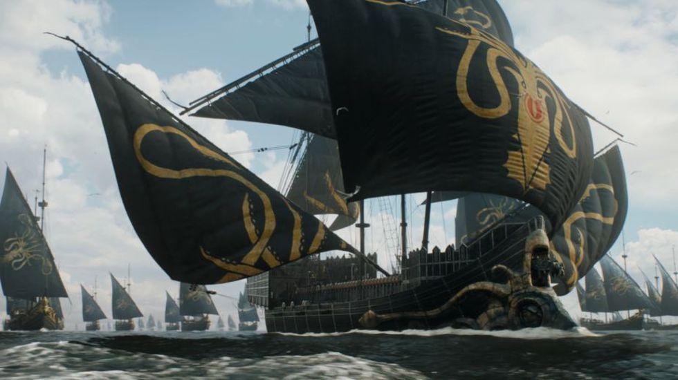 Algunos hombres de Euron Greyjoy fueron masacrados por Theon y sus leales seguidores (Foto: Game of Thrones / HBO)