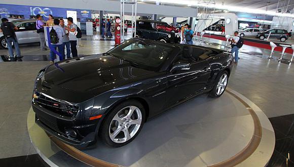 El Motorshow es la feria más grande del sector automotor. (Foto: Rolly Reyna)