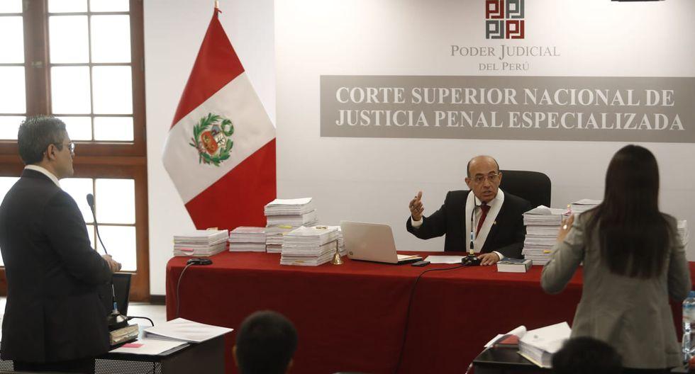 El fiscal José Domingo Pérez y la abogada de Keiko Fujimori, Giulliana Loza, pidieron la reprogramación de la audiencia. (Foto: GEC)