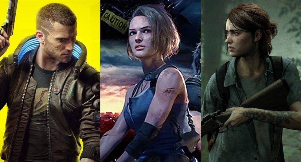 Este es un listado de los títulos que esperamos con más expectativas durante el 2020. (Foto: CD Projekt/ Capcom/Naughty Dog)
